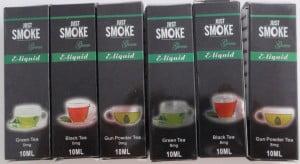 Just smoke green thee liquids 2