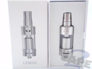 eleaf Lemo 2 RDA clearomizer review 2vape_0002