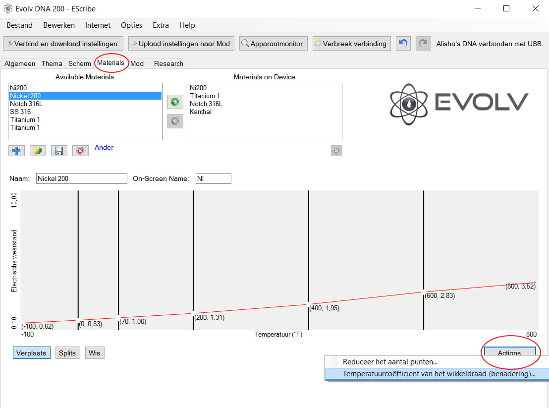 Evolv Escribe software